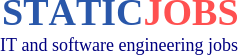 Static Jobs - IT and software engineering jobs in the USA, Canada and the UK