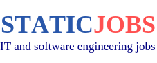 Static Jobs - IT and software engineering jobs in the US, Canada and the UK
